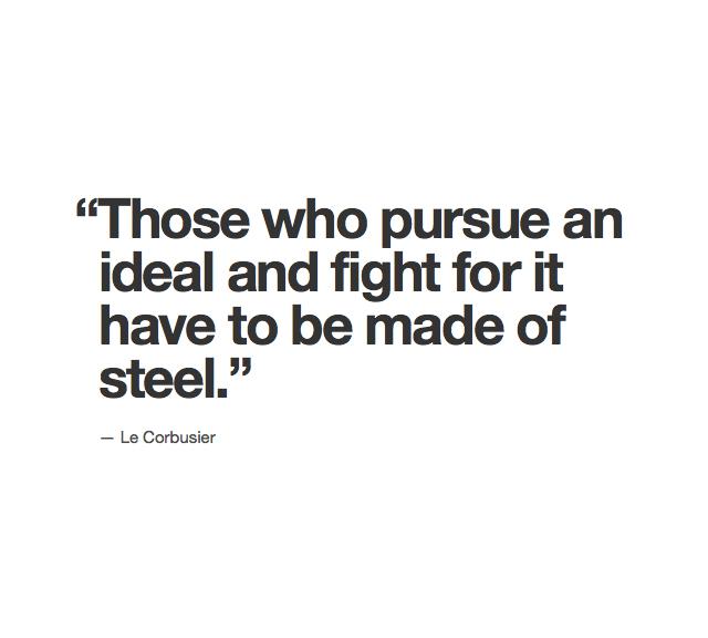 Le Corbusier's quote #3