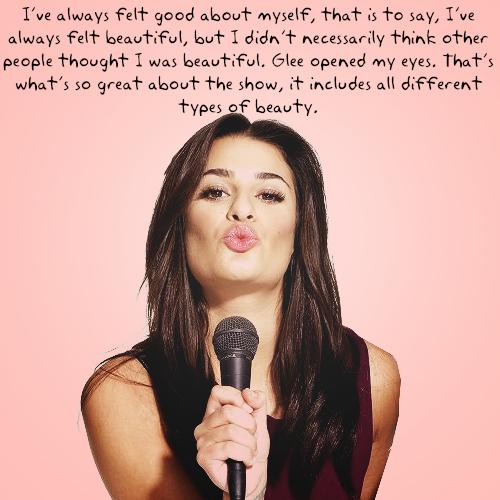 Lea Michele's quote #8