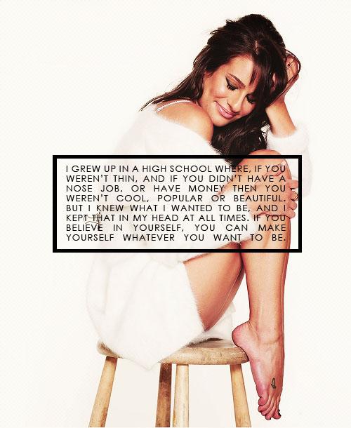 Lea Michele's quote #1