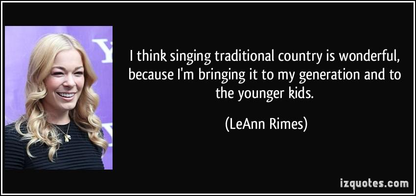 LeAnn Rimes's quote #1