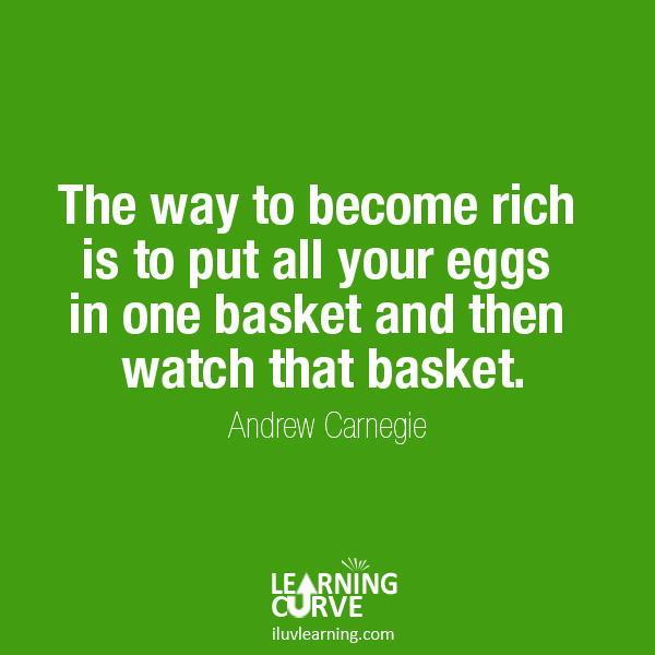 Learning Curve quote #2