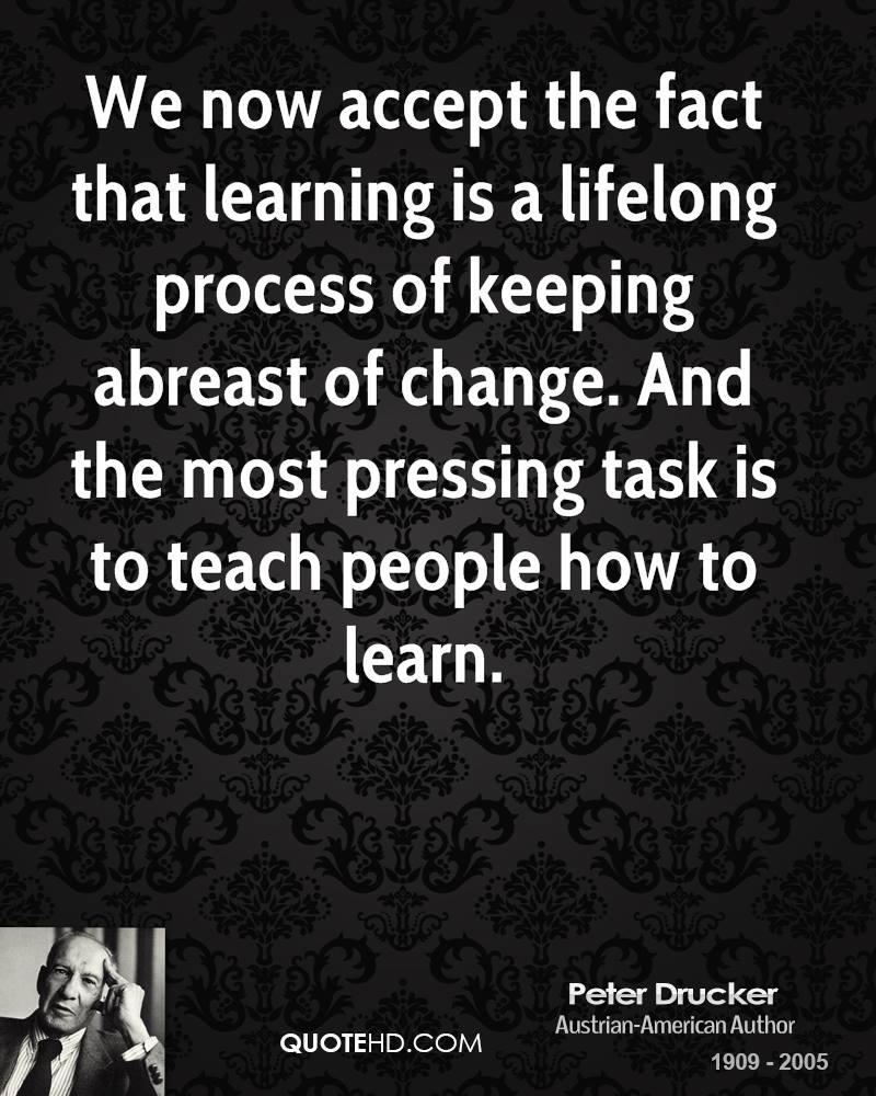 Learning Process quote
