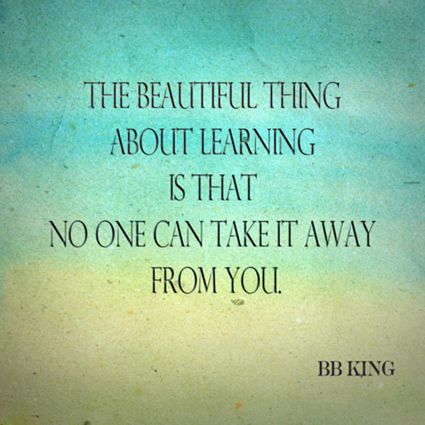 Learning quote #6