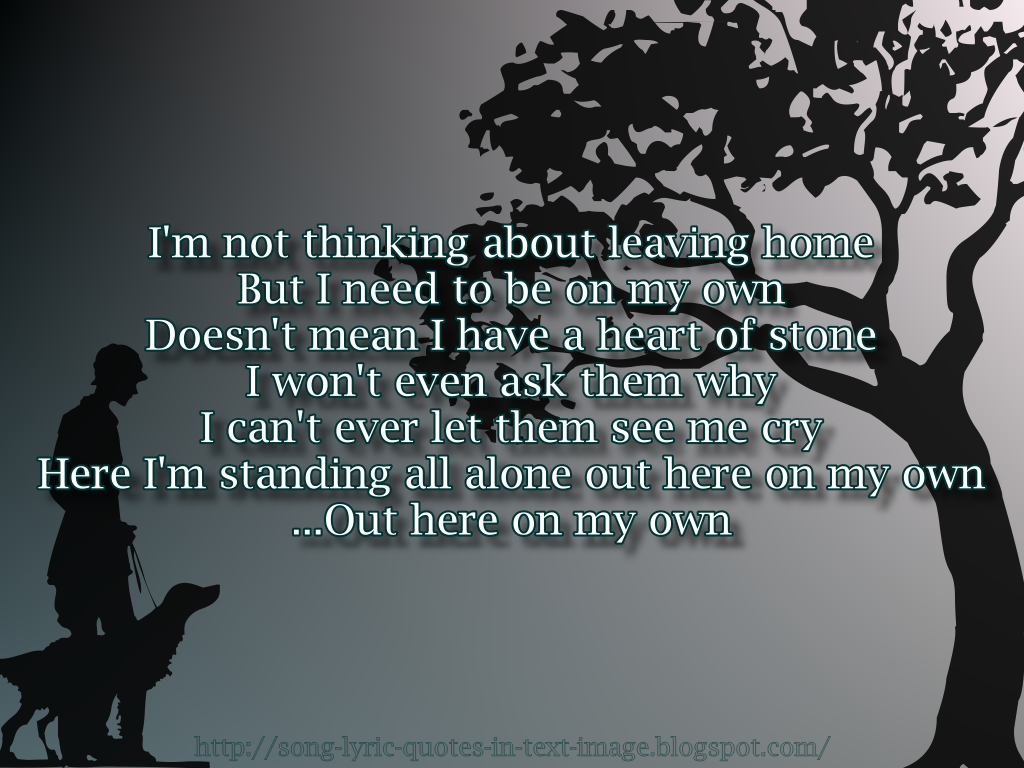 Leaving Home quote #1