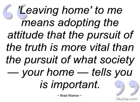 Leaving Home quote #2