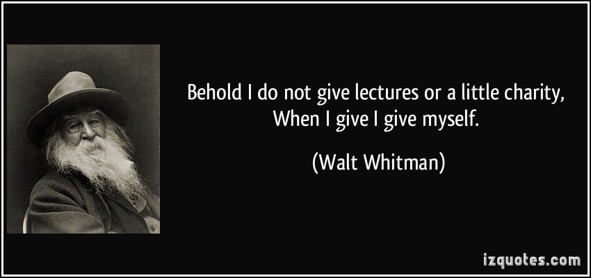 Lectures quote #1
