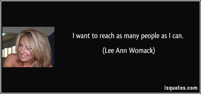 Lee Ann Womack's quote #1