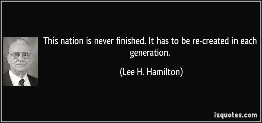 Lee H. Hamilton's quote #1