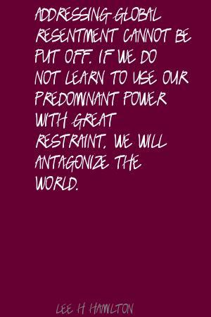 Lee H. Hamilton's quote #4