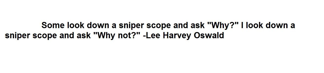 Lee Harvey Oswald's quote #1