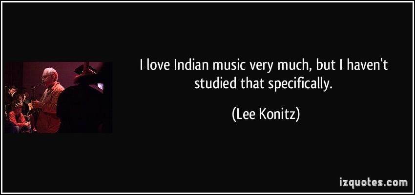 Lee Konitz's quote #4