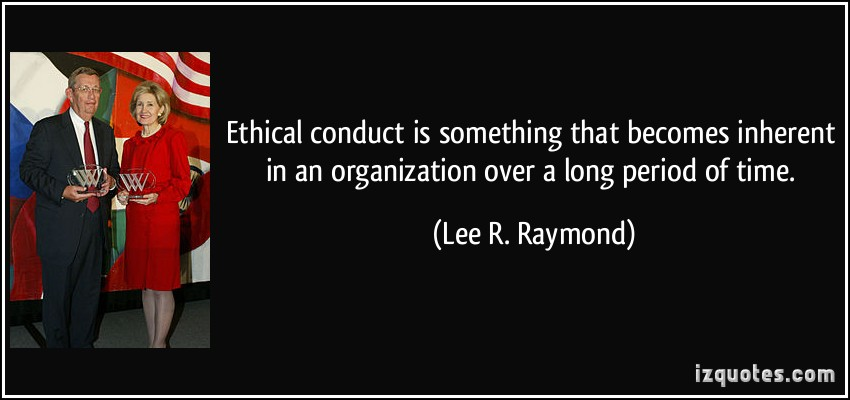 Lee R. Raymond's quote #4
