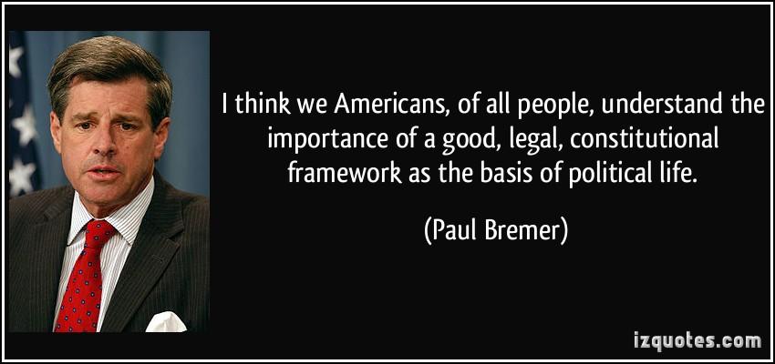 Legal Framework quote #1