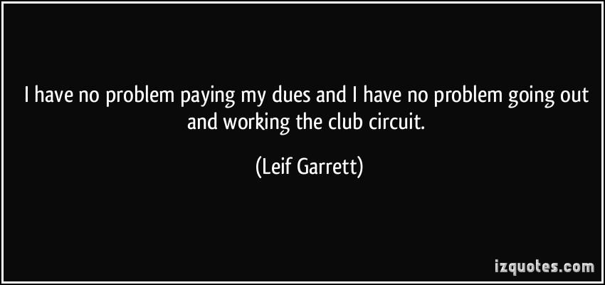 Leif Garrett's quote #3