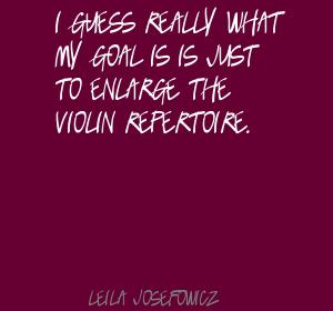Leila Josefowicz's quote #5