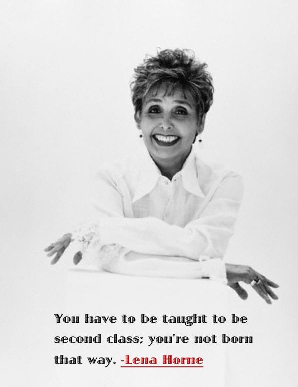 Lena Horne's quote #6