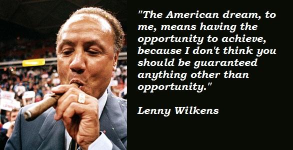 Lenny Wilkens's quote #2