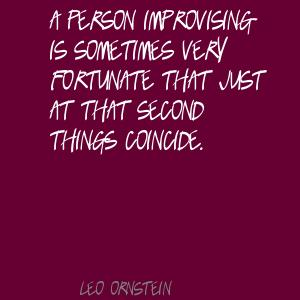 Leo Ornstein's quote #5