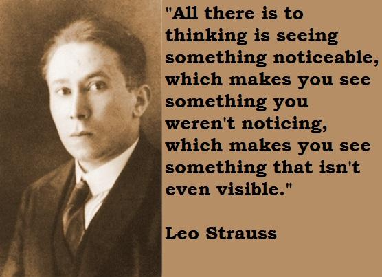 Leo Strauss's quote #1