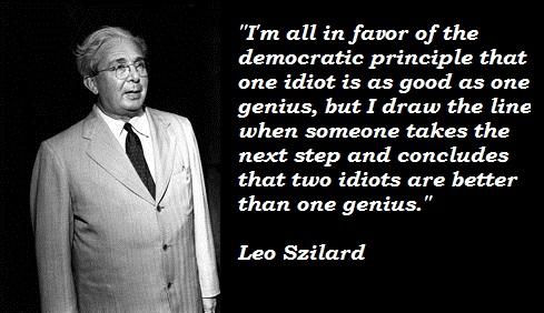 Leo Szilard's quote #1