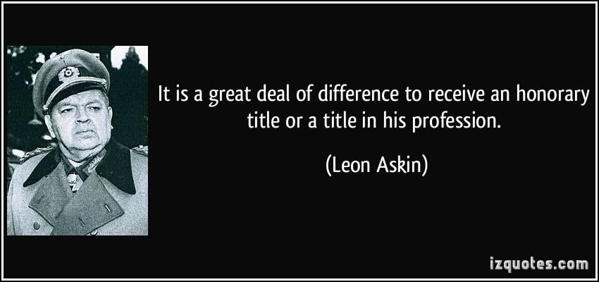 Leon Askin's quote #1