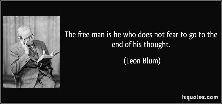 Leon Blum's quote