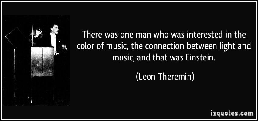 Leon Theremin's quote #1