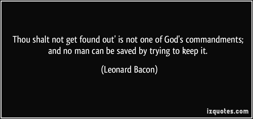 Leonard Bacon's quote #1