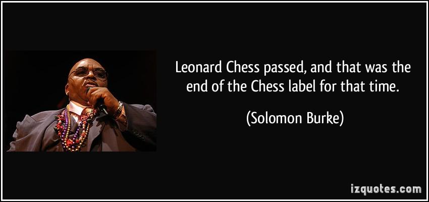 Leonard Chess's quote #1