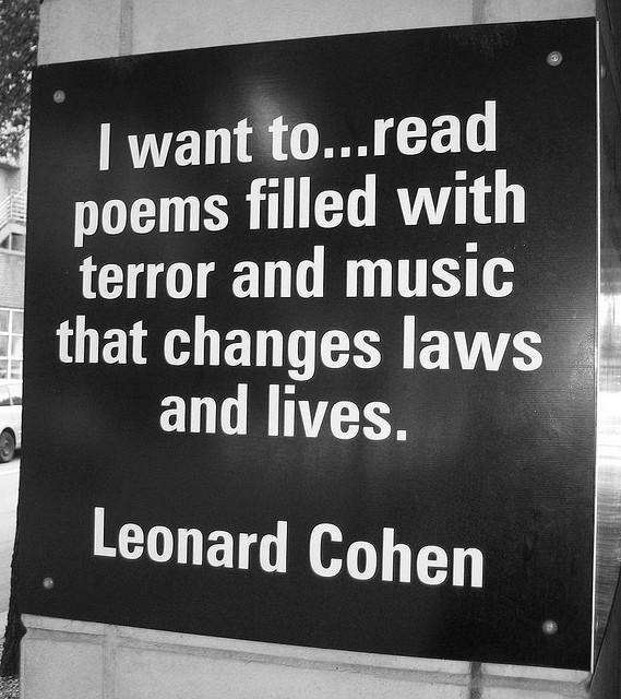 Leonard Cohen's quote #3