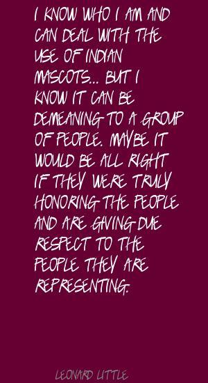 Leonard Little's quote #7
