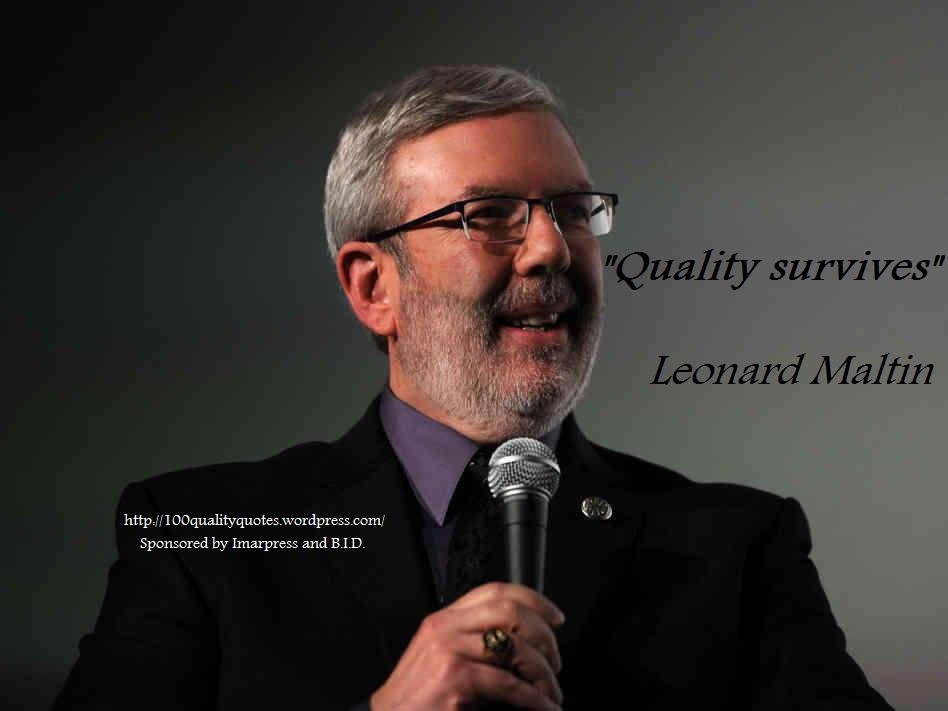 Leonard Maltin's quote #1