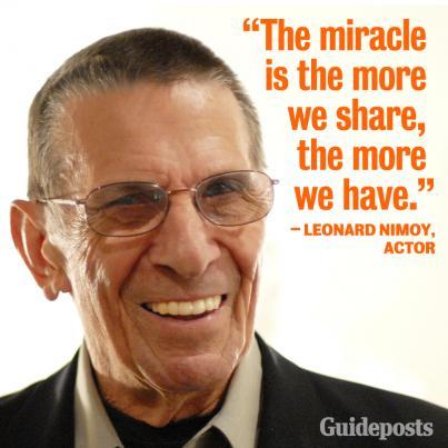 Leonard Nimoy's quote