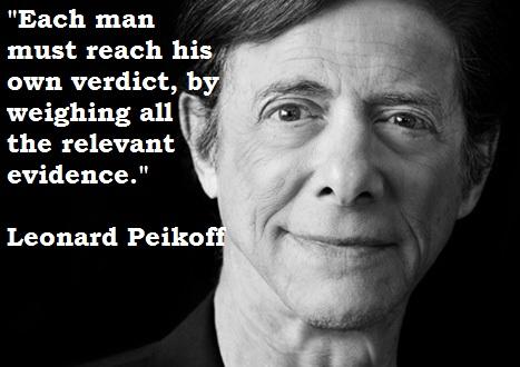Leonard Peikoff's quote #1