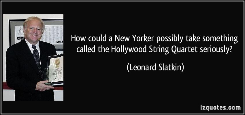 Leonard Slatkin's quote #5