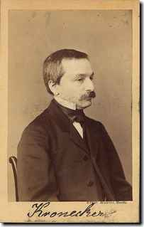 Leopold Kronecker's quote #1