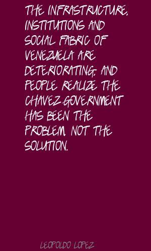 Leopoldo Lopez's quote #2