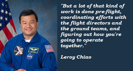 Leroy Chiao's quote #1
