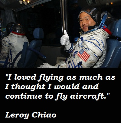 Leroy Chiao's quote #2