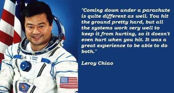 Leroy Chiao's quote #4