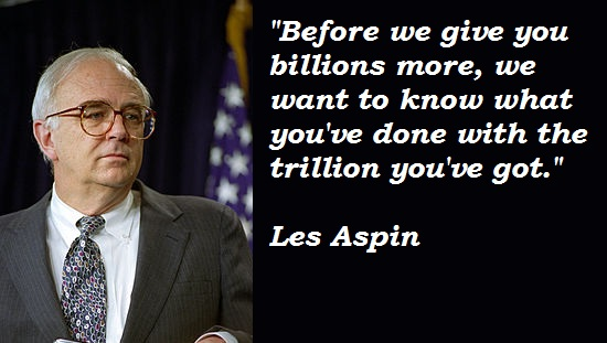 Les Aspin's quote #2