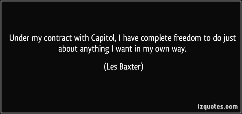 Les Baxter's quote #2