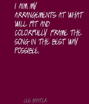 Les Baxter's quote #5