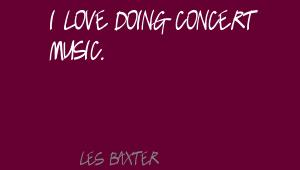 Les Baxter's quote #8