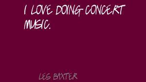 Les Baxter's quote #8