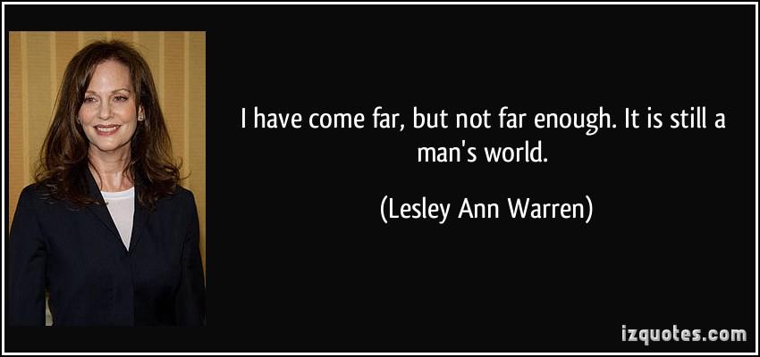 Lesley Ann Warren's quote #1