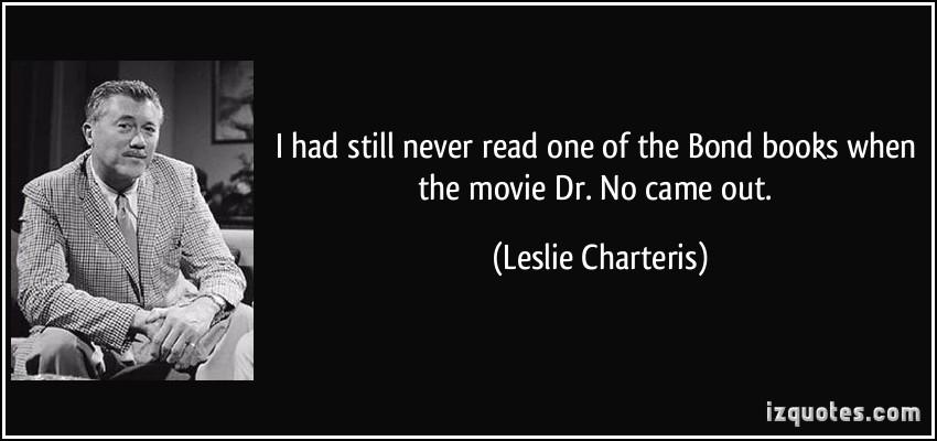 Leslie Charteris's quote #2