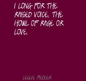 Leslie Fiedler's quote #1