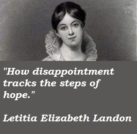 Letitia Elizabeth Landon's quote #1
