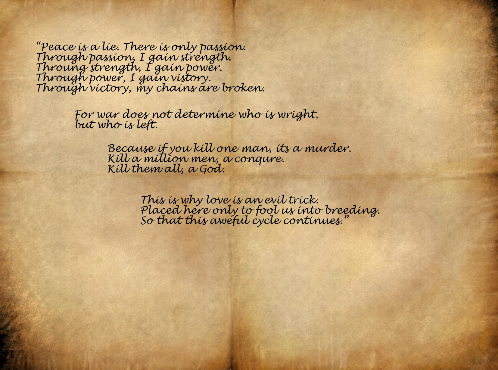 Letters quote #4